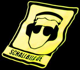 SCHALLBILD VJ-Kollektiv Logo auf Shirt