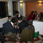 Gäste aus Berlin: fRED, Devon Miles, fALK und Georgia. Martin und Stephie von Shado mit Gast.