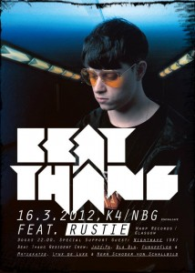 BEAT THANG feat. Rustie