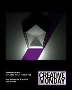 Flyer Creative Monday 23.4.2012